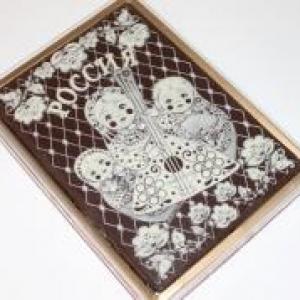 Покровский  в шоколаде Матрешки 700гр